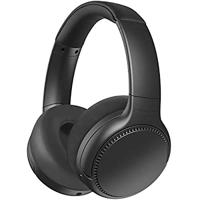 Panasonic RB-M700BE-K Deep Bass Wireless Overhead Headphones with Active Noise Cancelling - Black by Panasonic