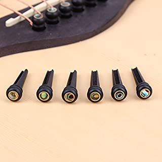 Gazechimp 3PCS Tapas De Doble Pastilla De Humbucker De Carril Caliente De Pl/ástico Para Piezas De Guitarra El/éctrica Accesorio Instrumento de Musical Negro