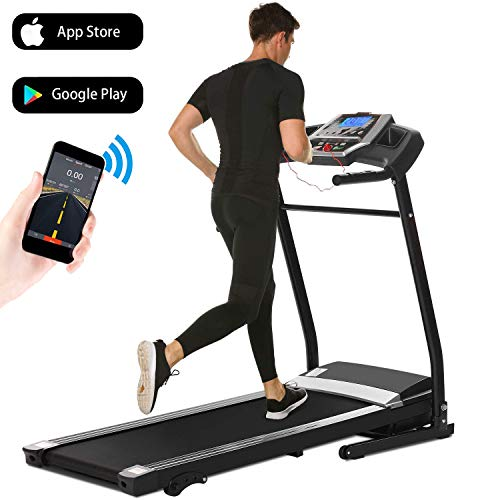Aceshin Treadmills for Home with Incline, Treadmill Folding for Small Spaces Running, Motorized Fitness Smartphone APP...