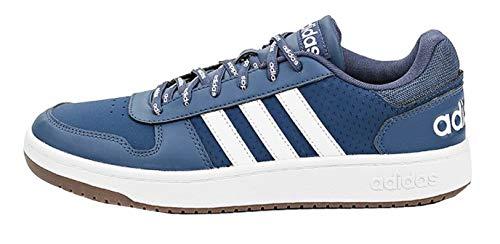adidas Hoops 2.0, Zapatillas de bsquetbol Hombre, Crew Navy FTWR White Gum5, 40 2/3 EU