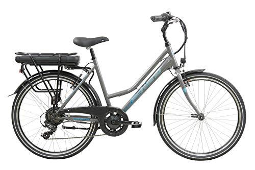 F.lli Schiano E- Light 1.0 Bicicleta eléctrica, Women's, Antracita, 26'