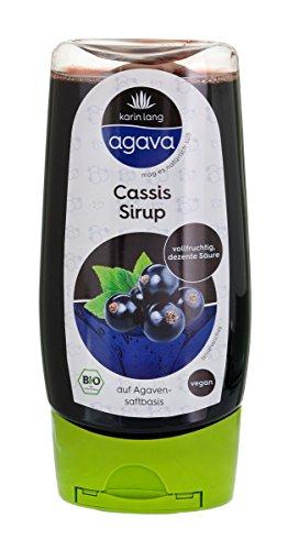 Karin Lang agava Cassissirup, 250 ml