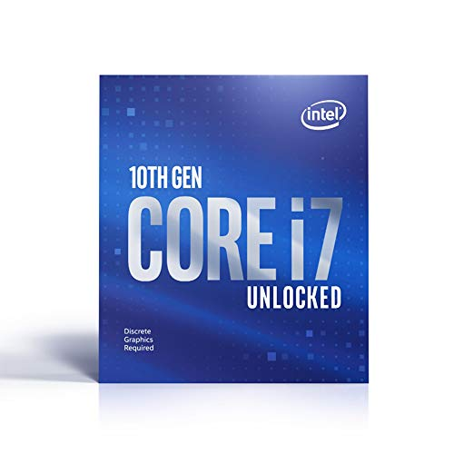 Intel Core i7-10700KF - Processore da 3.80 GHz, LGA1200, 125 Watt