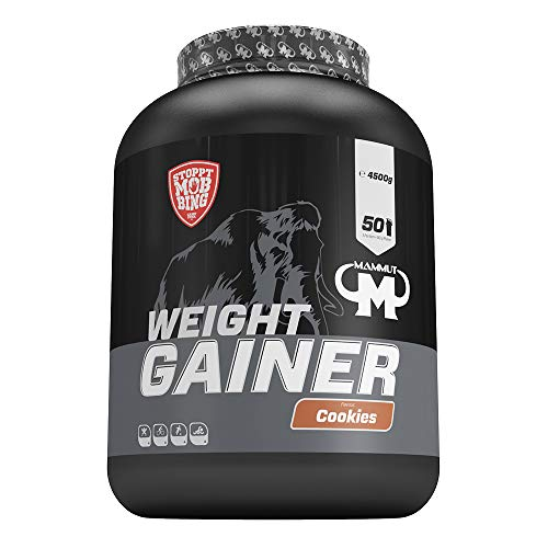 Mammut Weight Gainer Crash 5000 Cookies 4500 g Dose