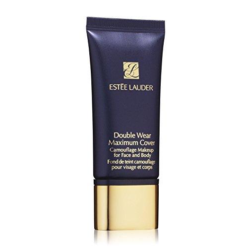 Estée Lauder Double Wear Maximum Cover Foundation Camouflage Make Up 3, Creamy Vanilla, 1er Pack (1 x 30 ml)