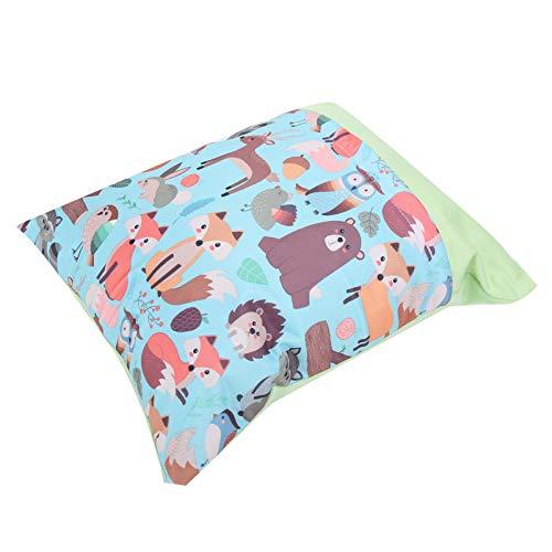 DAUERHAFT Bolsa de pañales, Espacio Grande y Peso Ligero para bebés, recién Nacidos y niños pequeños para Las Necesidades diarias de pañales y bebés(Zoo)