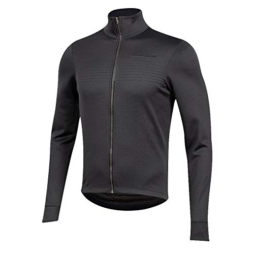 PEARL IZUMI Men's PRO Merino Thermal Cycling Jersey, Phantom, Medium
