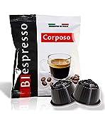 Caffè Biespresso - Capsule Compatibili Dolce Gusto - Confezione da 400 - Miscela Corposo