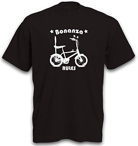 T-Shirt Bonanza Bonanzafahrrad Fahrrad BMX Cruiser Lowrider Beachcruiser Biker Gr. L
