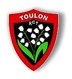 France Blasons Toulon RCT Rugby, Plusieurs Tailles, Autocollant Sticker (10)