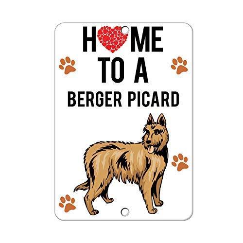 Froy to Berger Picard Dog Eisen-Plakat-Malerei-Plaketten-Metallweinlese-Dekorations-Handwerk für Café-Bar-Garagen-Haus