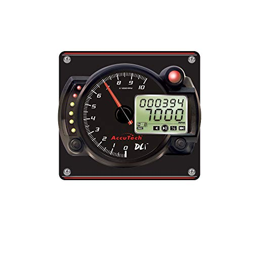 Find Cheap Longacre 52-44479 Tach 4in Data LoggingBlk w/Blk Alum Panel
