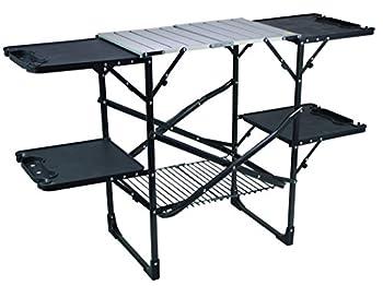 GCI Outdoor 15026 Slim-Fold Camp Kitchen Portable Folding Cook Station