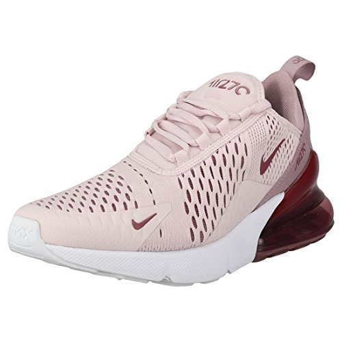 Nike W Air MAX 270, Zapatillas para Correr Mujer, Barely Rose/Vintage Wine/Elemental Rose/White, 38 EU