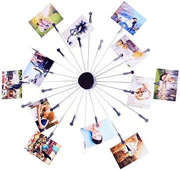 Mollytek Hanging Photo Display Wall D cor Postcard Gift Card Picture Display Stand Decor Photo product image