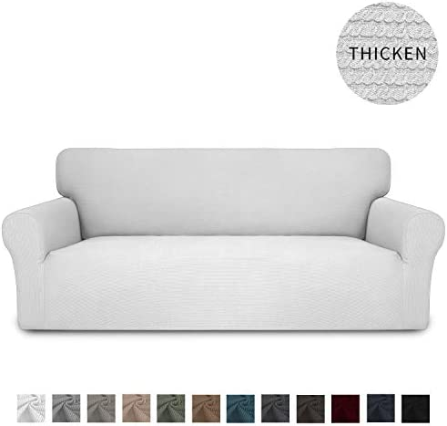Best Easy-Going Thickened Stretch Slipcover, Sofa Cover, Furniture Protector with Elastic Bottom, 1 Piece