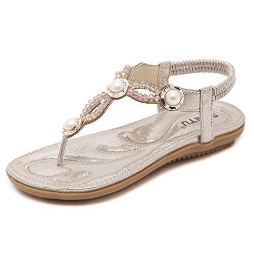 N-A - Zapatos de verano para mujer, agarre y estabilidad sencillos pero elegantes, tejido elástico suave, zapatos de verano lavables transpirables e impermeables (color: azul, talla: 42)