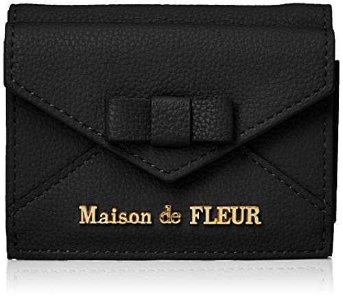 [メゾン ド フルール] 財布 ミニ財布 レディース 8A03FRJ0200 ブラック