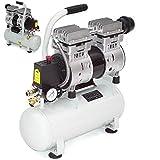 Flüsterkompressor 40291 leiser Druckluft Kompressor 750W ölfrei Luftkompressor AWZ