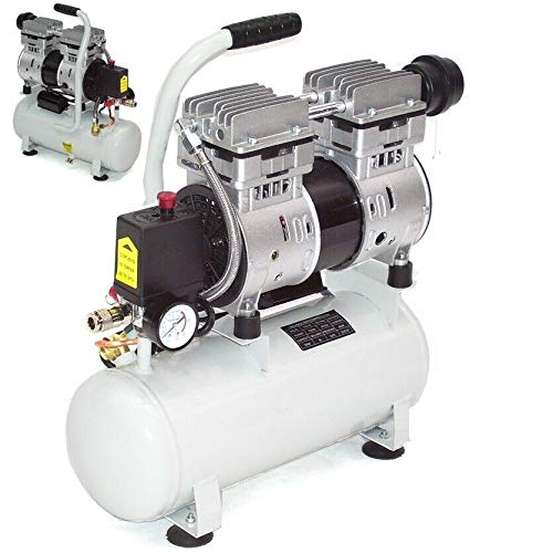 FlüsterLeise Kompressor 40291 leiser Druckluft Leise Kompressor 750W ölfrei LuftLeise Kompressor AWZ