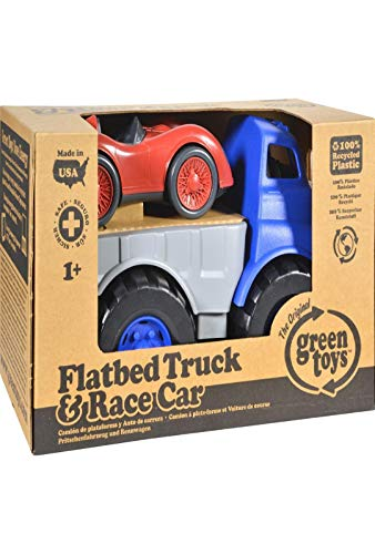 FLATBED W/RED RACE CAR