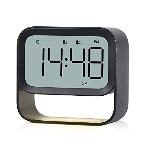 ICECUUL LCD Digital Alarm Clock Only $6.29 (Retail $22.99)