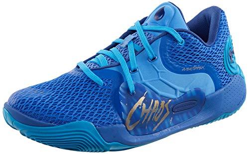 Under Armour 3022626-403, Zapatillas de Baloncesto para Hombre, Azul, 43 EU