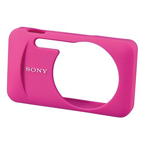 Sony LCJ-WB Weiche Silikontasche für W/WX-Serie pink