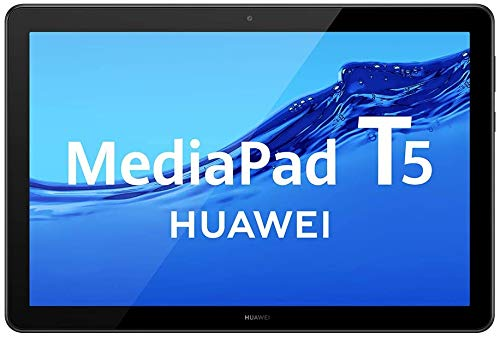 Huawei MediaPad T5 Tablet with 10.1' IPS FHD Display, Octa Core, Dual Harman Kardon-Tuned Speakers, WiFi Only, 2GB+16GB, Black (US Warranty)