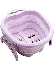 Hengyixing, Plastic folding foot bath, home massage foot bath, thick plastic massage foot bath barrel-3