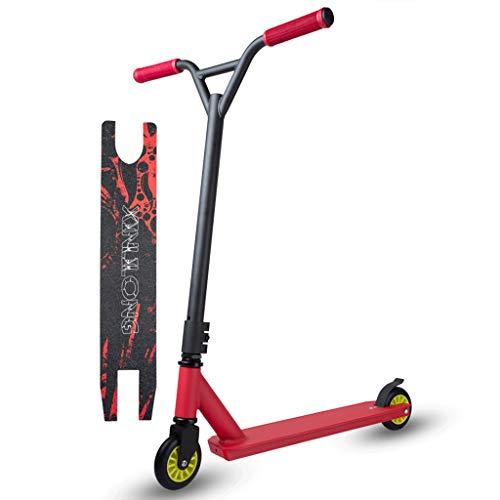 Pro Stunt Scooter, 360-Grad-Street-Scooter Mit Rutschfestem Deck, PP-Rädern, ABEC 7-Kugellagern Und Festem Lenker-Sport-Tretroller Für Kinder Und Erwachsene