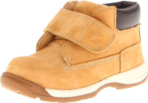 Timberland Timber Tykes Hook and Loop, Botas para Niños, Amarillo (Wheat), 28 EU