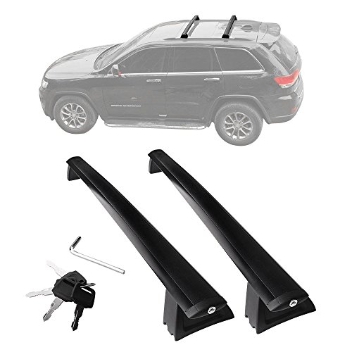 YITAMOTOR Cross Bars Roof Racks for 2011-2019 Jeep Grand Cherokee, Luggage Crossbars with Locks...