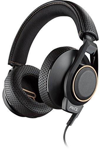 Plantronics 941631 - Auricular estéreo biaural para Consola 600HS, Color Negro