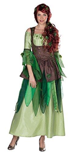 Forest Fairy Feen Kleid Märchen Kostüm für Damen