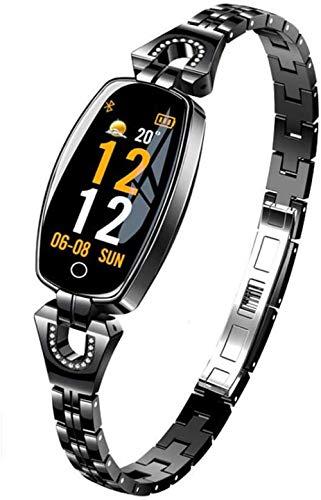 TYUI Reloj Inteligente Mujeres Ip67 Impermeable Frecuencia Cardíaca Monitoreo Bluetooth para Android iOS Fitness Pulsera Smartwatch-C