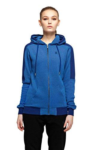 OnePiece P-HO15001 Sweat-Shirt, Bleu (Depth Blue Mel), (Taille Fabricant: Large) Mixte