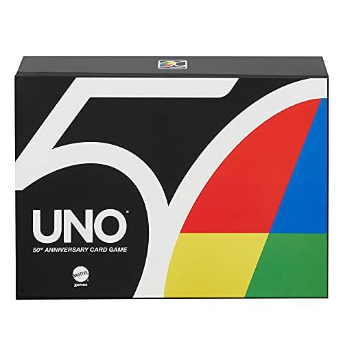 Mattel Games GXJ94 - UNO 50 Anniversary Premium...