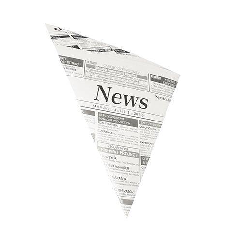Ameisenkeks® - 100 x Spitztüten Papiertüten für Kaufladen | Süßigkeiten | Fritten | Mandeln | fettdicht ✔