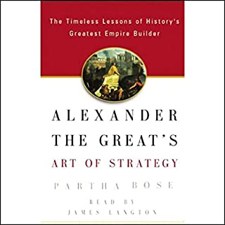 Alexander the Great's Art of Strategy audiobook cover art