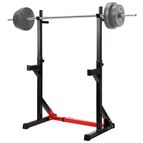 Ollieroo Multi-Function Barbell Rack Dip Stand