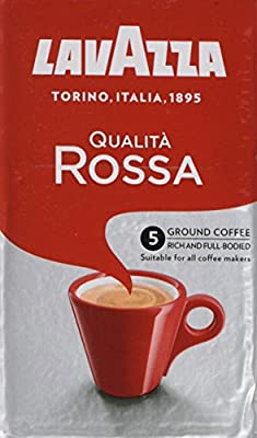 Lavazza Qualita Rossa Ground Coffee 250g (Pack of 12)