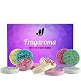 Makady Aromatherapy Shower Steamers - Variety Set of 12x Shower Bombs with Essential Oils for Relaxation. Shower Bomb Melts for Women Who Has Everything. Shower Steamer Tablets (Fizzies) for Home Spa