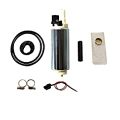 Item-condition: 100% Brand New In Factory Original Package. Not refurbished or re-manufactured parts. Item-included: Aftermarket Electric Fuel Pump & Necessary Installation Kit. (Comes With Strainer,Clamp,Wiring etc.Plz check the picture for details)...