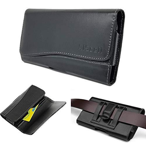 Motorola Moto Z Force Droid Edition (Passt Phone + OtterBox Commuter/Defender Hybrid-Dual-Layer Schutzhülle mit Ständer, Black Wallet