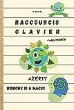 Raccourcis clavier responsable AZERTY Windows 10 & macOS 2021: Écologique