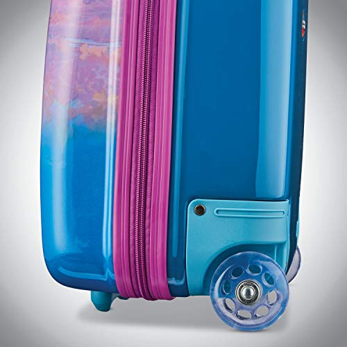 American Tourister Kids' Disney Hardside Upright Luggage, Frozen Destiny, Carry-On 18-Inch