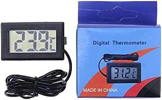 Triamisu Thermomètre numérique numérique Thermomètre Température corporelle Fish Tank Réfrigérateur Instrument de Mesure d...