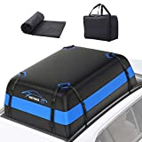 Vetoos 21 Cubic Feet Car Rooftop Cargo Carrier Bag, Soft Roof Top Luggage Bag...