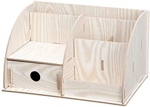 Ablagesysteme File Cabinet Datei Halter Desktop Storage Box Basket Creative-Datei Data Holder hölzernes Briefpapier Starke Härte Großes Geschenk Bürobedarf Schreibwaren